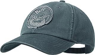 Buff 男式野生图案棒球帽,灰色轿车,均码