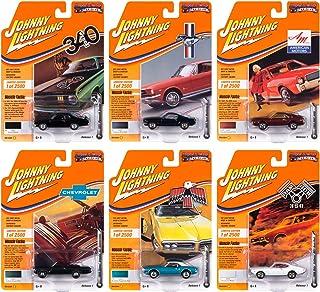 Johnny Lightning 1:64 肌肉车美国压铸发行版 1 2020,版本 B