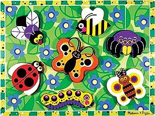 Melissa & Doug 昆虫木质粗拼图 昆虫木制粗拼图 无尺寸 昆虫