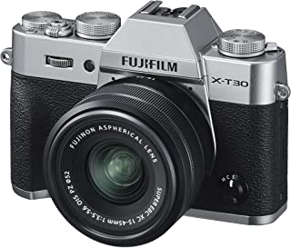 Fujifilm 富士相机16619126 X-T30 Silber mit XC15-45 mm 银