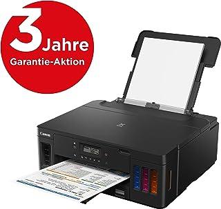 Canon 佳能 Pixma G5050 Megatank 多功能一体喷墨打印机(打印机,WiFi,USB 2.0)大墨容器,打印范围高,页面成本低