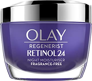 Olay 玉兰油 Regenerist Retinol 24 保湿晚霜,含视黄醇和维生素B3,50毫升,无香料