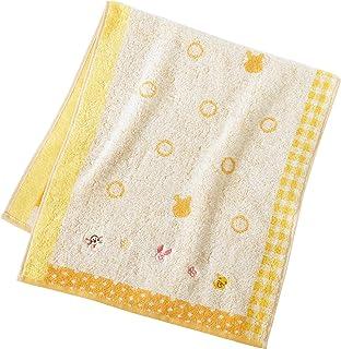 内野(UCHINO)迪士尼 色彩幸福 面巾 黄色 小熊 约34×75cm 4112F809 Y