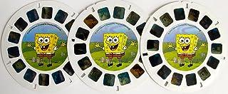 SpongeBob SquarePants 完整 3 件套 SPONGEBOB SQUAREPANTS View Master DISCS w/ Bubblestand, Gary Takes a Bath, & Frankendoodle (2003 Fisher Price),SpongeBob SquarePants 出品