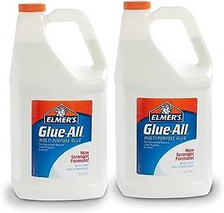 Elmer's Glue-All 多用途液體膠 白膠 適合制作史萊姆 桶裝r 3.78L*2桶裝