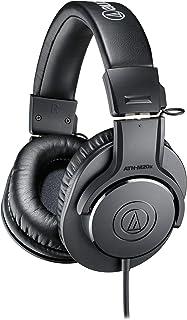 Audio Technica 铁三角 ATH-M20x DJ-工作室用耳机