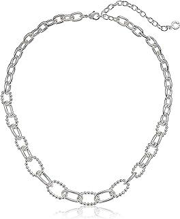 Anne Klein 安妮克莱因 银色 16IN 前链项链