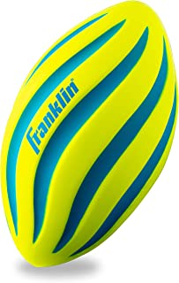 Franklin Sports 泡沫足球 - 练习和后院游戏的完美选择 - 非常适合*次玩耍和小孩 - 螺旋足球 - 9 英寸