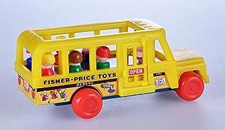 World's Smallest Fisher Price 校车玩具