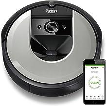 iRobot Roomba i7156 15165 具有學習性,創造空間計劃并調整,以找到*佳清潔路徑,淺銀色
