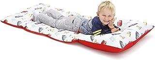 Disney 米妮老鼠,幼兒易折疊睡墊,粉色,淺綠色 汽車總動員