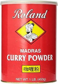 Roland Curry Powder, Madras, 1 Pound (Pack of 4)