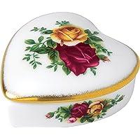 Royal Albert Old Country Roses 心形盒
