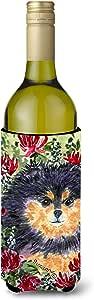Caroline's Treasures SS8727-Parent Pomeranian *饮料保温器 适用于小型罐 SS8727MUK,多色 多种颜色 750 ml SS8727LITERK