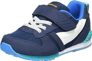 MoonStar 运动鞋 学生鞋 儿童鞋 4大功能 魔术贴 呵护* ** 宽松 MS C2121S マリン 16.0 cm 2E