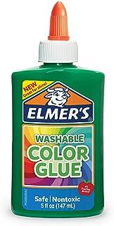 elmer's ' s 可水洗颜色和胶水绿色5盎司非常适合 MAKING Slime