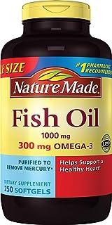 Nature Made 天维美 欧米伽3深海鱼油软胶囊 250粒(包装可能会有所不同) 海外卖家直邮