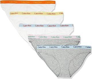 Calvin Klein 女士旋转木马标志棉质比基尼内裤