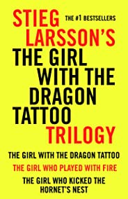 Girl with the Dragon Tattoo Trilogy Bundle: The Girl with the Dragon Tattoo, The Girl Who Played with Fire, The Girl Who Kic