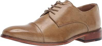 Kenneth Cole REACTION 男士 Blake 开普托系带牛津鞋 棕褐色 12 M US