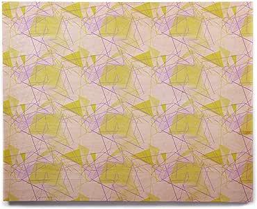 "KESS InHouse Alison Coxon""黄色""桦木墙壁艺术 8"" x 10"" AC1009AHW01"