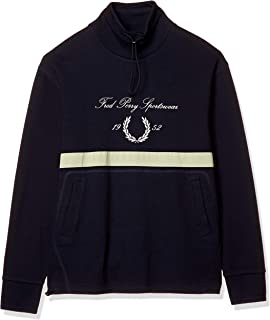 FRED PERRY 运动衫 EMBROIDERED FUNNEL NECK SWEATSHIRT M8596 男士