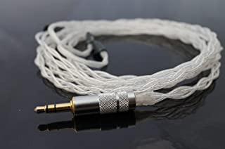 "Effect Audio Studio""雷神银""Westone 升级替换电缆适用于 4R/UM3XRC/UM2XRC、JH 音频,UE 定制"