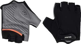 预言中性 - 成人自行车手套带凝胶衬垫,尺寸 L/XL,黑色