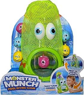 BANZAI Monster Munch Pool 潜水游戏,乐趣简单,只需喂食怪物使其漂浮到游泳池顶端