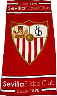 Sevilla Cf toasev Towel, White/Red, One Size