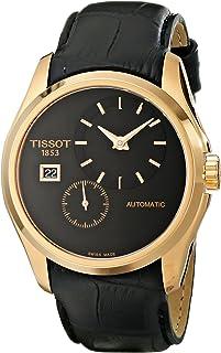 Tissot 男式 T0354283605100 模拟显示自动上链黑色手表