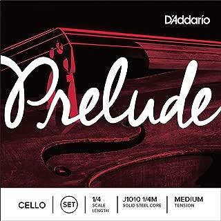 D'Addario 达达里奥 Prelude 中等张力 1/4 大提琴套弦 J1010 1/4M