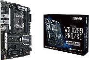 ASUS 华硕 WS x299PRO / SE 2066Intel x299DDR 4s-ata 600ATX 工作站插座–黑色