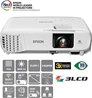 Epson EB-X39 Portable 3LCD Business Projector,White
