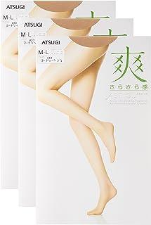ATSUGI 厚木 ASTIGU 【爽】 舒爽连裤丝袜 凉感清爽 3双套装 ASTIGU 女士