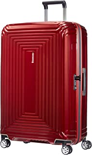 Samsonite 新秀麗 Neopulse 萬向輪 L 行李箱,Metallic Red,L (75cm-94L)