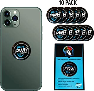 PWR Guard 电磁*保护手机*,中和器屏蔽,5G 保护罩 - 适用于所有电子产品,笔记本电脑和平板电脑的抗电磁*保护你的孩子和家人