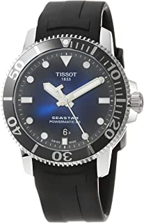 Tissot 天梭 男士 Seastar 1000 Powermatic 80 - T1204071704100