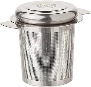 bolddrop 不锈钢 FINE filtering 活页冲茶器篮适用于杯和马克杯 不锈钢