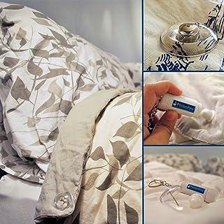 PinionPins 床单紧固件 透明 8 PP-001