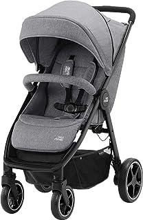 Britax Römer B-Agile M 婴儿推车推车推车推车推车,新生儿至4岁(22 千克) 大象灰色