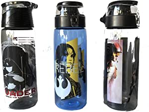 Zak Star Wars 25 盎司(约 63.5 毫升)Tritan 水瓶套装 - 3 件装 - 不含双酚 A
