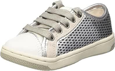 Geox Creamy F,女童运动鞋 Argent (C1007) 13 UK Child