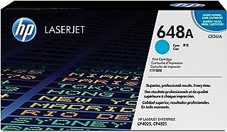 HP 惠普 CE261A 青色原装 LaserJet 硒鼓648A (适用于LaserJet CP4025/CP4525)