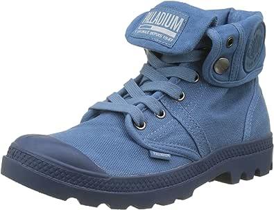 palladium 女式 pallabrousse 宽松帮训练 Blue (Capitain Blue/Capitain Bl K80) 5 UK