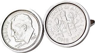 1987 US Cufflinks - 30th Birthday- Genuine Mint US Coin