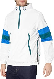 Perry Ellis - 男式外套男式防水套头连帽轻型防雨夹克