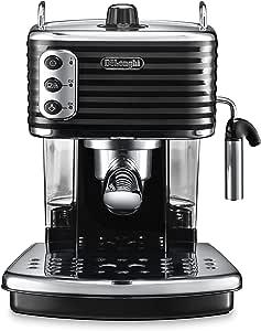 DeLonghi 德龙 ECZ-990 351.W Scultura 意式浓缩咖啡机 黑色
