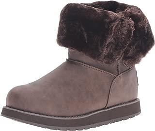 Skechers Keepsakes 女士人造革中扣冬靴