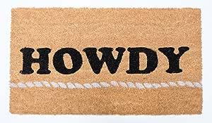 Natural Coir Coco 纤维防滑户外/室内门垫,18x30,重型入门鞋刮擦天井地毯污泥泥泥泥泥土废料料料农场防水生活
